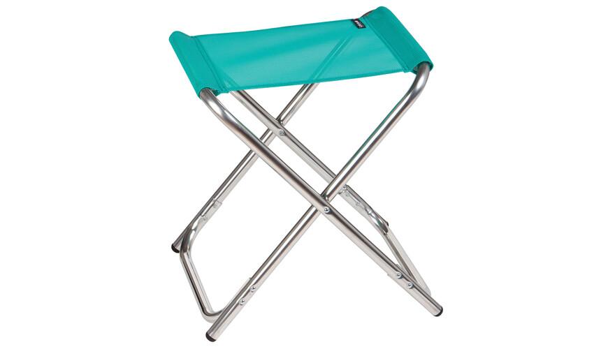 Lafuma Mobilier ALU PL Camping zitmeubel Sun Glam Batyline turquoise